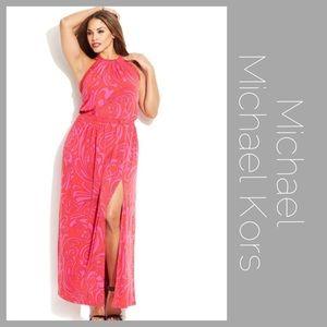 Michael by MK Paisley Print Cynthia Dress 2x